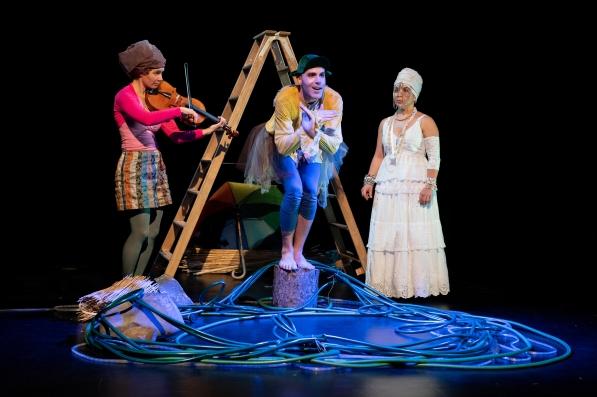 ENTE, TOD UND TULPE im Kleintheater Luzern, 01.11.2020. Foto: Beat Allgaier